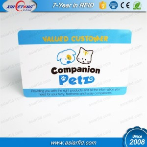 Ntag203 NFC Pet ID Card