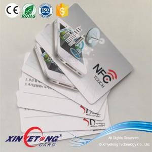 Логотип для печати карты NFC, мобильный платеж Ntag213
