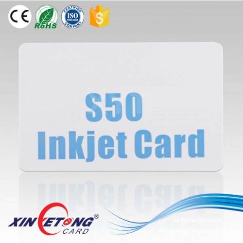 ISO 14443A 13.56Mhz RFID S50 Blank Card