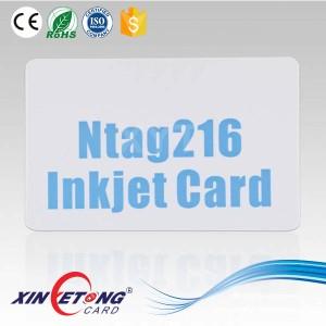 Пустые карты ISO 14443A 13.56 МГц RFID NTAG216