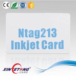 Пустые карты ISO 14443A 13.56 МГц RFID NTAG213