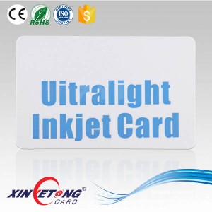 ISO 14443A 13.56Mhz RFID Ultralight Blank Card