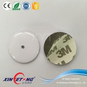 Dia25mm, водонепроницаемый эпоксидной Ntag203 144 байт стикер с 3M клей