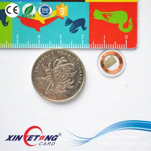 13mm 15693 RFID Tags Icode Sli 1024bit Coin Tags