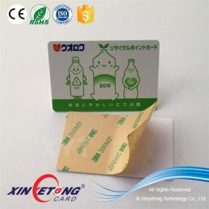 86x54mm Classic 1k RFID Paper Sticker Blank