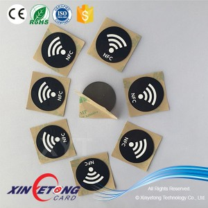 Programmable NFC tag NTAG213 Custom Data on Andorid Mobile