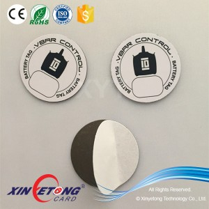 Anti-radiation Dia35mm NFC Sticker for NFC Phones,Ntag213 144byte NFC Sticker