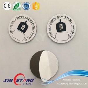 Анти-излучения Dia35mm NFC наклейка для NFC телефонов, Ntag213 144 байт NFC стикер