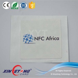 Dia45mm Circle TAG Dia40mm Aluminum corrosion Antenna Cheap NFC Stickers