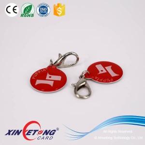 13.56Mhz Digital Print NFC NTAG213 HF Epoxy Tag