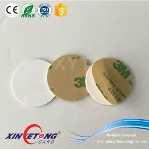 Ntag203 ПВХ жестких эпоксидных NFC тег с 3M клей