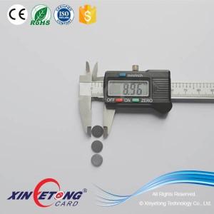 13.56Mhz NTAG213 RFID Smallest Round Tags Dia 9mm Dia10mm Dia 15mm RFID Tags TK4100 LF