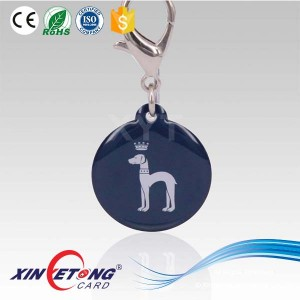 Dia32mm NFC Epoxy Tag,Personalized Ntag203 144byte NFC Epoxy Card