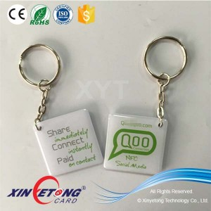 13.56Mhz Ntag216 RFID/NFC Epoxy Tag/Card with 3M adhesive