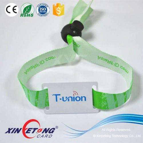 Activity Wristband Ultralight C Event Passive RFID Fabric wristband bracelet