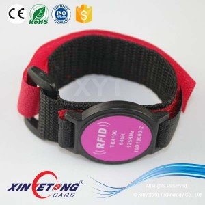 Watch model NFC Wristband 544byte NTAG215 Wristbands for parties