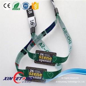 13.56 МГц NFC Icode Браслеты событий решения RFID браслетов