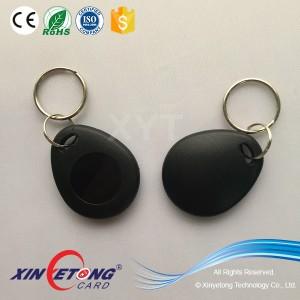 RFID S70 RFID Black Round Keyfob