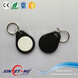 ISO14443A RFID 1kbyte Identification Keyfobs RFID Keyfob