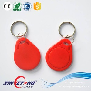 NFC NTAG213/215/216 Red Keyfob Tags For Access