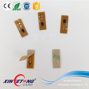 13.56Mhz NFC High temperature resistance PCB NFC Tag 8*14mm NTAG203F