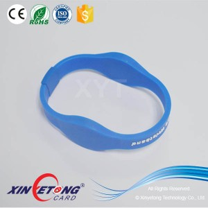 Dual 125khz 13.56Mhz Dual Frequency Silicone Wristband Best Price