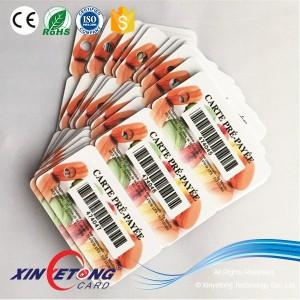CR80 13,56 МГц PET членство карты ВЧ 13,56 МГц NFC карта