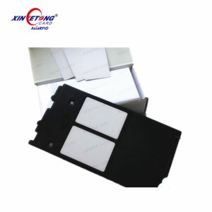 Epson L800 Blank Inkjet PVC ID Card имеет символы водонепроницаемой, быстро поглощающей краски с двух сторон.