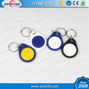 TK4100 RFID брелка фабрика может использовать передовые технологии для производства брелка RFID ABS высокого стандарта.