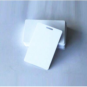 Blank Inkjet PVC ID Card with 15x3mm ID Hole