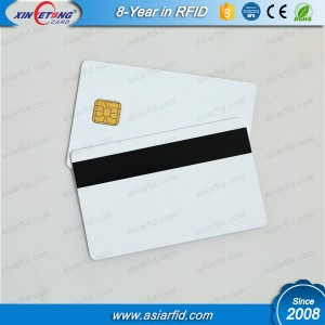On the surface of Magnetic & Hico RFID Card, we can design beautiful printing, LOGO, variable data printing, bar code printing.