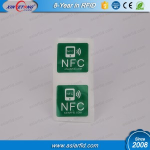 15x30mm NTAG213 ЦНК для печати наклейка NFC тег