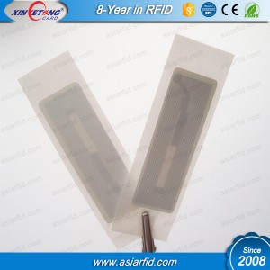 Small Size UHF RFID label Alien H3 9620 UHF Wet Inlay