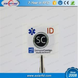 13,56 МГц я код SLI наклейка на срок поставки, и мощные производственные возможности обеспечить кратчайший график доставки.