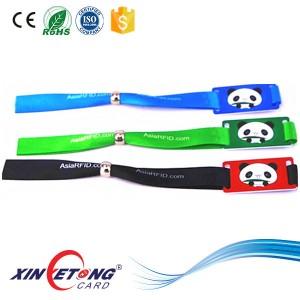 13.56MHZ NTAG213 Thermal Transfer Printing RFID Wristband