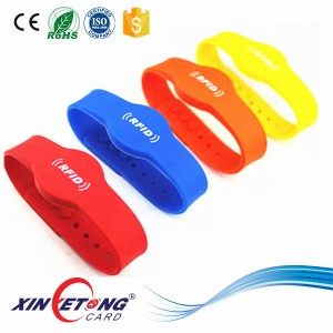 ISO14443A Custom Logo Printing NFC Wristband For Children Classic 1K(45MM)