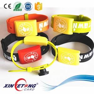 ISO15693 Adjustable RFID Bracelet I Code SLI(240*31MM)