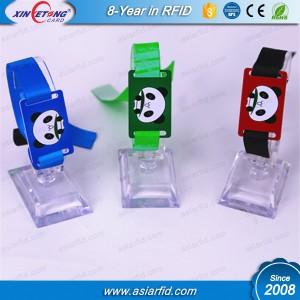 HF Adjustable Fudan F08 Nylon RFID Wristband For Event