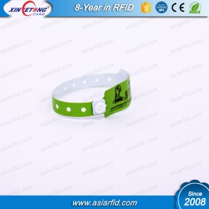 RFID NTAG213 Paper Disposable Wristband