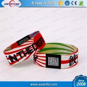 Adjustable Fudan 08 Silicone Wristband with competitive price